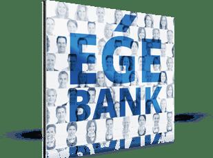 Foto mosaico empresas banco