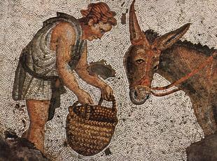 Mosaico clasico en la Antiguedad