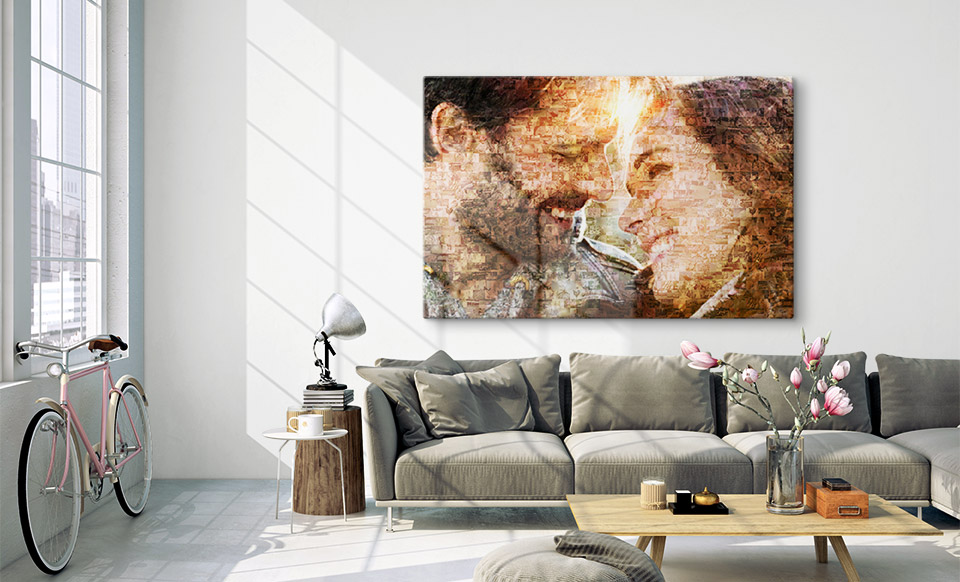 app mosaico fotos apartamento