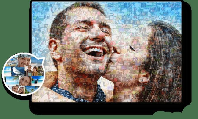 Crear Mosaico De Fotos Hasta 1 000 Fotos
