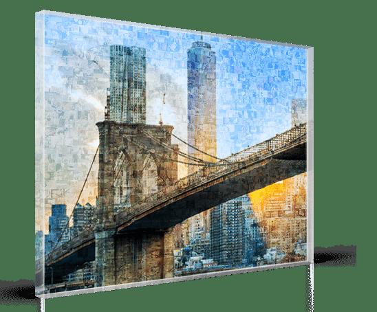 foto mosaico acrilico