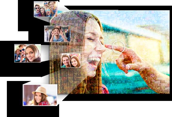 mosaico de fotos para cumpleanos top