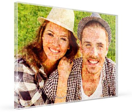 mosaico metacrilato pareja sombreros