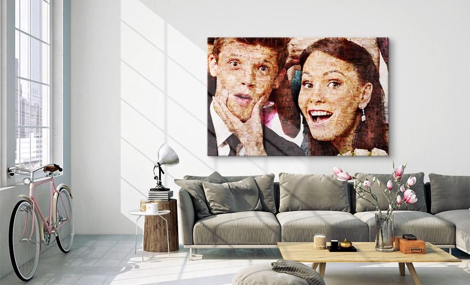mosaico muchas fotos apartamento