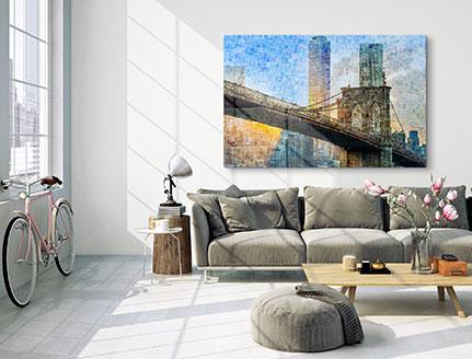 salon foto mosaico